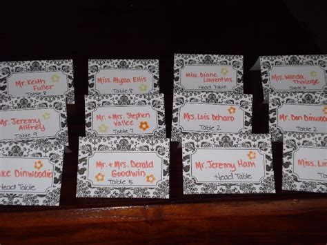 what do i write on wedding place cards the wedding wand place cards complacent