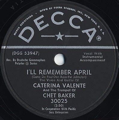 caterina valente and chet baker roots vinyl guide