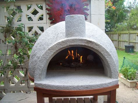pizza oven easy build firing