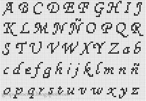 abecedario en punto de cruz para imprimir 17 best images about abecedarios en punto de cruz on