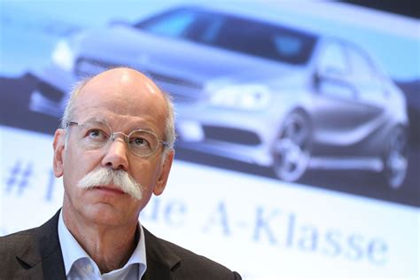 mercedes benz ceo dieter zetsche pictures mercedes benz launches new a