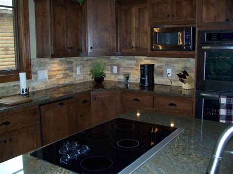 stone veneer kitchen backsplash kitchen backsplash los angeles by diversified property