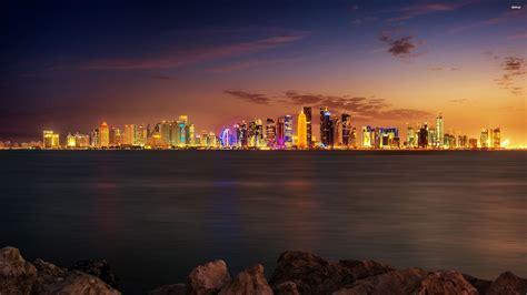 wallpaper qatar doha qatar walldevil