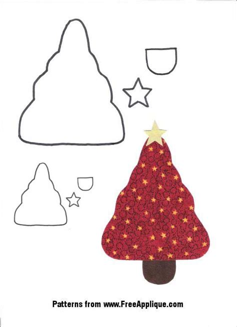 pattern for applique christmas tree christmas tree applique pattern free christmas angel