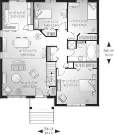 Single Story Floor Plans by Contemporary House Plans Single Story Contemporary House