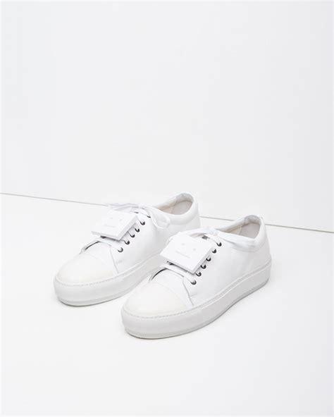 acne sneaker acne studios sneaker in white lyst