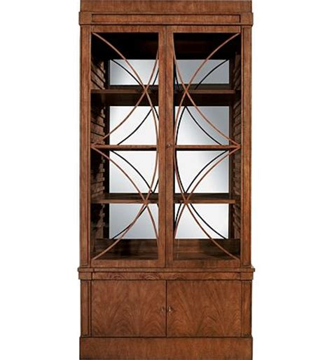 Mahogany Kitchen Cabinet Doors Artisan 2 Door Mahogany Grand Cabinet W Glass Doors From The 1911 Collection Collection By