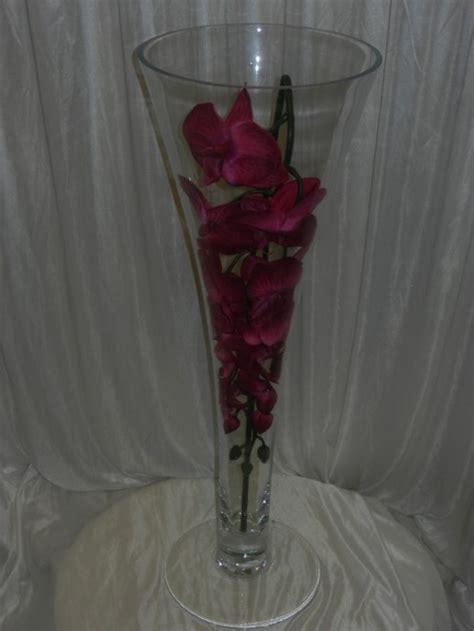 Vases For Hire by 64cm Trumpet Vase Hire