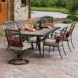 Agio Patio Dining Set Patio Furniture Find Relaxing Outdoor Patio Furniture At