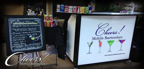 mobile bartender hire cheers mobile bartenders bartender in corona