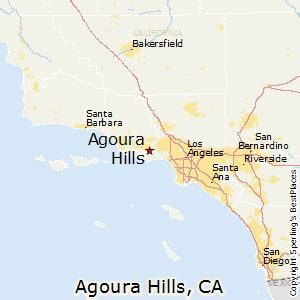 agoura california map best places to live in agoura california
