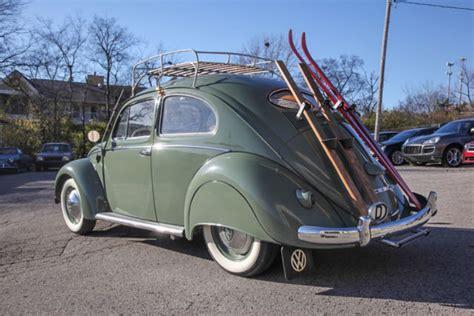 volkswagen split window beetle zwitter hp fender skirts roof rack wow classic