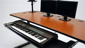 Foot Stand For Desk Ergo Music Height Adjustable Music Production Desk