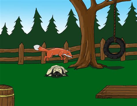 the fox jumped the lazy the brown fox jumps the lazy by schmalkalder on deviantart