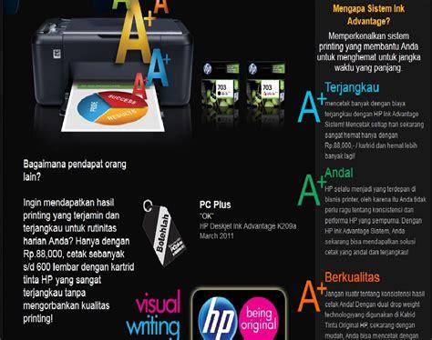Printer Hp Deskjet 3635 Ink Advantage Murah hp ink advantage jual printer hp harga murah tinta