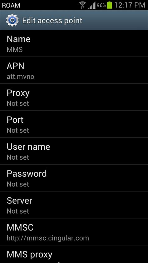 at t apn settings android the ultimate apn settings to use with talk