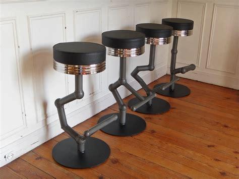 Tabouret De Bar Style Industriel by Tabouret De Bar Industriel Style And Steel Jpg Chaises