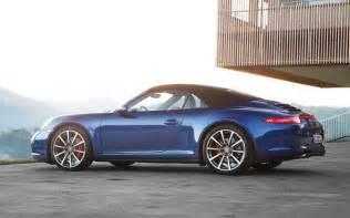 2013 Porsche 911 4s 2013 Porsche 911 4 And 4s Drive Motor Trend