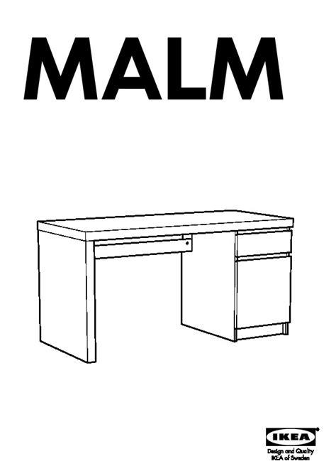 Ikea Bureau Malm by Malm Bureau Brun Noir Ikea Ikeapedia