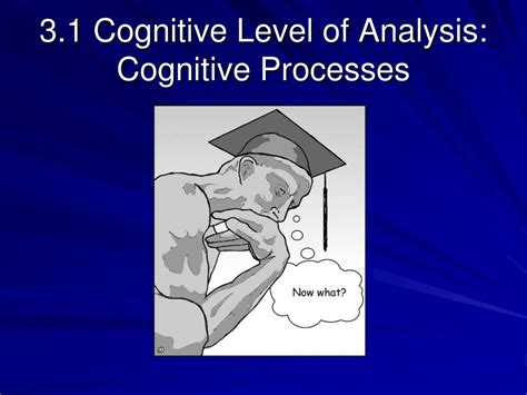 how to analyze how to analyze and cognitive behavioral therapy books ppt 3 1 cognitive level of analysis cognitive processes