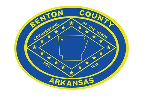 Benton County Arkansas Records File Flag Of Benton County Arkansas Svg