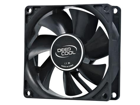 Deepcool Xfan 12cm Black Hydro Bearing Terpercaya xfan 80 deepcool fan