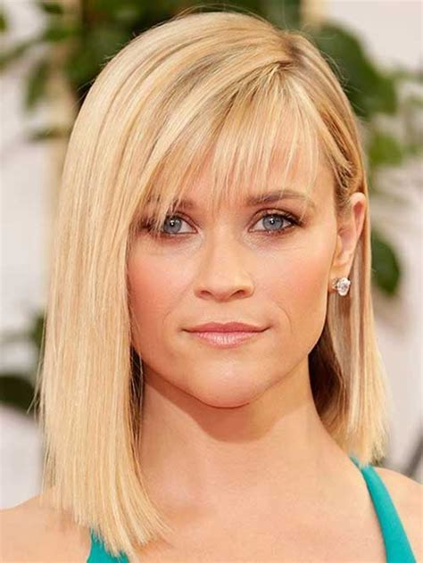 reese witherspoon angled bob medium long hairstyles 2014 2015 hairstyles haircuts