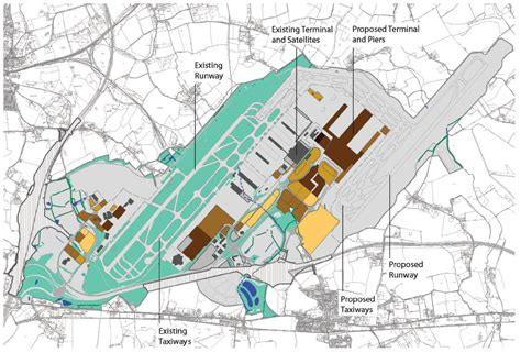 Airport Terminal Floor Plans by Stop Stansted Expansion Campaign The Map Room