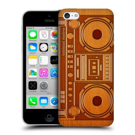 Boombox Iphone 5c designs boombox wooden gadget back