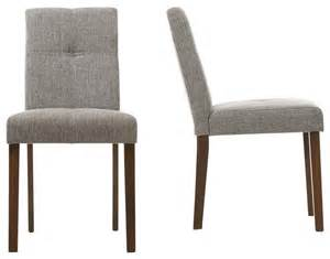 Dining Stool Chairs Elsa Dining Chairs Set Of 2 Dining Chairs By Baxton Studio