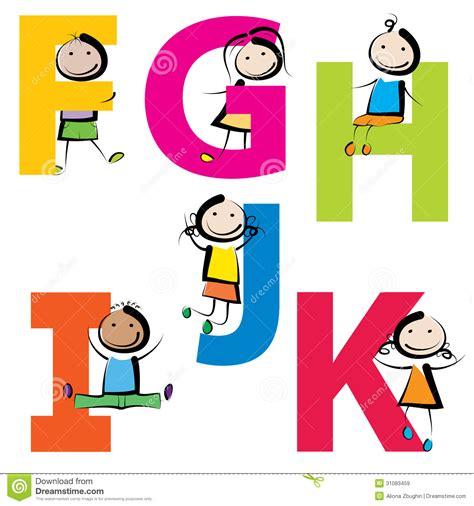 Character With Letter Y Kinder Mit Buchstaben Fk Lizenzfreie Stockbilder Bild 31083459