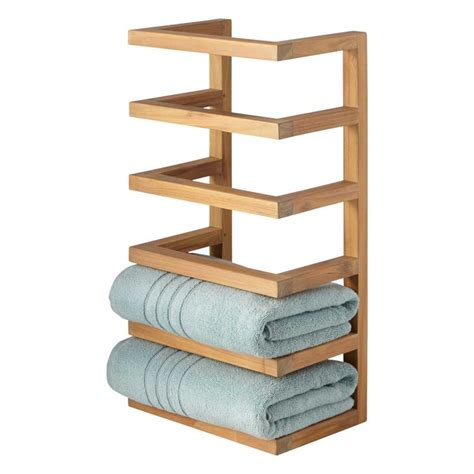 255 Best Small Bathroom Low Ceiling Images On Pinterest Bathroom Towel Storage Rack