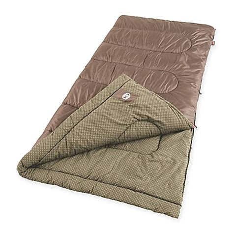 bed bath and beyond sleeping bags coleman 174 oak point sleeping bag in brown bed bath beyond