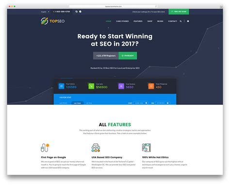 html welcome page template 22 most popular marketing themes 2017 colorlib