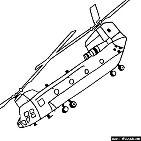 coloring pages army helicopter ch 47sd chinook helicopter online coloring page books