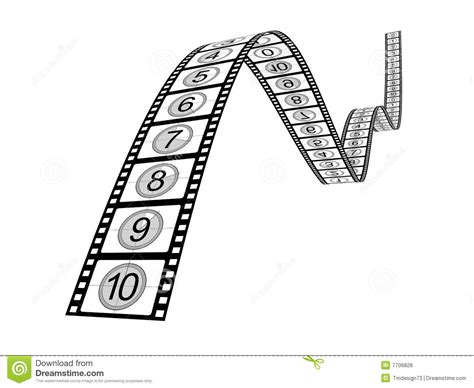 Filmstrip Countdown Royalty Free Stock Photos Image 7706828 Filmstrip Countdown