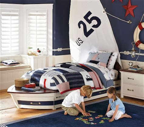 toddler boat bed copy cat chic pottery barn kids speedboat bed trundle