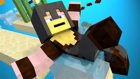 you always win minecraft water parkour minecraft animation