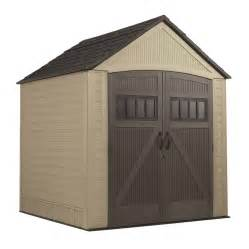 Rubbermaid Shed For Sale by Shop Rubbermaid Roughneck Gable Storage Shed Common 7 Ft