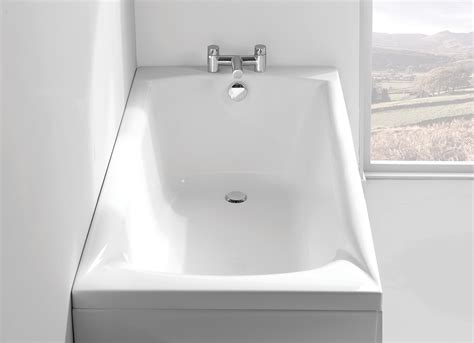 carron delta mm  mm single ended bath mm uk