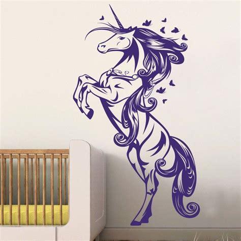 girls bedroom wall decals unicorn horse nursery girls bedroom wall decal decor