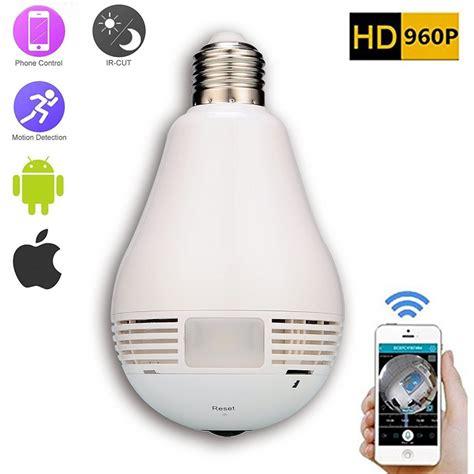 Light Bulb Hidden Camera Optodio Light Bulb Wireless Wifi Ip Security Camera