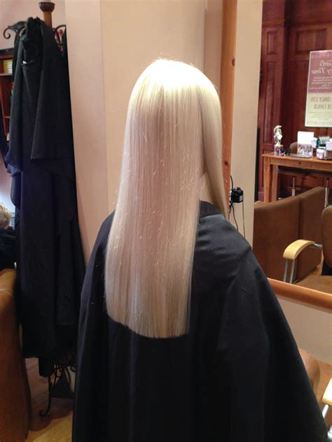 when to cut hair for thickness long hair with one length cut adds thickness to the style