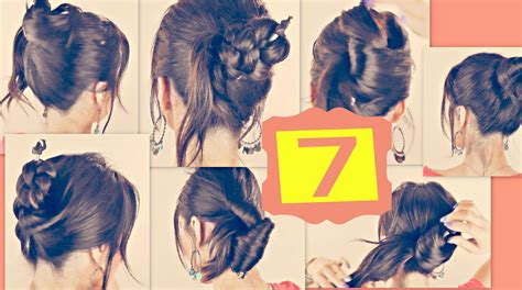 easy hairstyles for school tutorials 7 cute hairstyles with just a pencil long hair tutorial