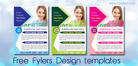 free flyer template design brochures archives corelpro