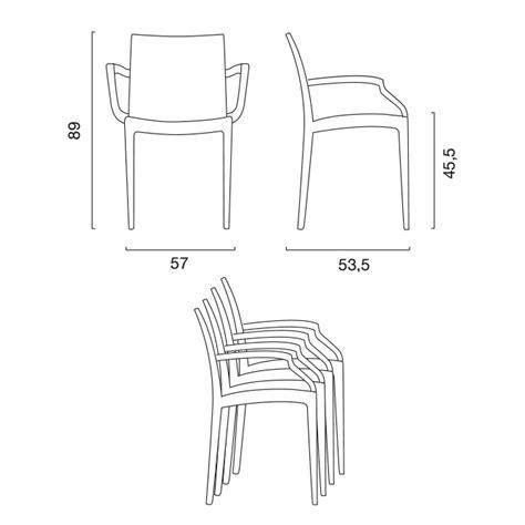 misura sedia misure poltrona dettaglio misure with misure poltrona