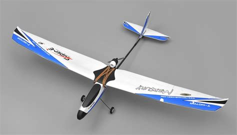 Rc Plane Trainer tech one hobby mercury trainer 4 channel rc airplane kit