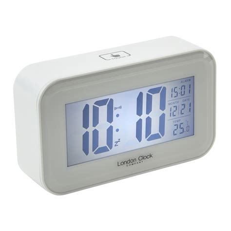 Digital Alarm Clock buy digital alarm clock rectangle purely wall clocks