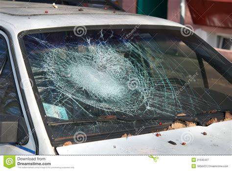 repair glass broken windshield royalty free stock photography image
