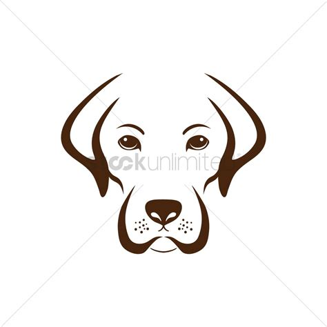 puppies by design simple design vector image 1515557 stockunlimited